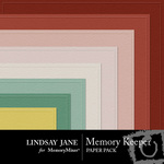 Memory Keeper Embossed Paper Pack-$2.50 (Lindsay Jane)