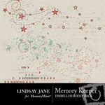 Memory Keeper Scatterz Embellishment Pack-$1.99 (Lindsay Jane)