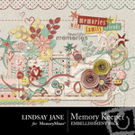 Memory Keeper Embellishment Pack-$3.49 (Lindsay Jane)