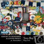 Teen Boy Mega Pack-$5.99 (Albums to Remember)