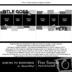 Page Builder QuickMix Sampler Freebie-$0.00 (Albums to Remember)