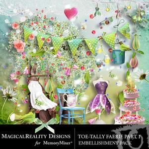 Toetally faerie emb 1 medium