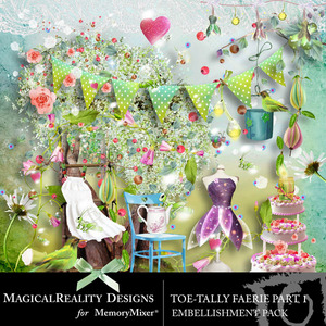 Toetally faerie emb 1 medium