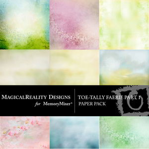 Toetally faerie pp 1 medium
