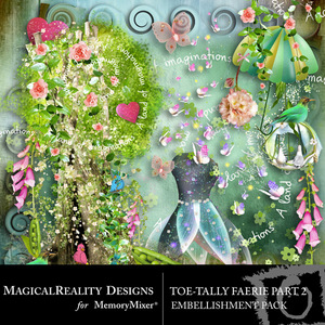 Toetally faerie emb 2 medium