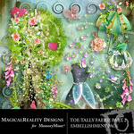 ToeTally Faerie Embellishment Pack 2-$2.99 (MagicalReality Designs)