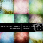 ToeTally Faerie Paper Pack 2-$3.99 (MagicalReality Designs)