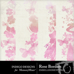 Rose Border Embellishment Pack-$1.99 (Indigo Designs)