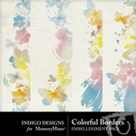 Colorful Border Embellishment Pack-$1.99 (Indigo Designs)