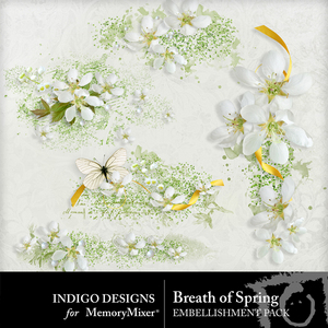 Breath of spring scatters medium