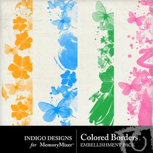 Colored borders emb medium