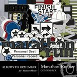 Marathon Runner Combo Pack-$5.49 (Albums to Remember)