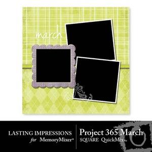 March project 365 square medium