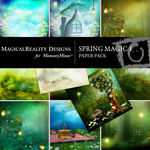 Spring Magic Paper Pack 1-$3.99 (MagicalReality Designs)