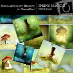 Spring Magic Paper Pack 2-$3.99 (MagicalReality Designs)