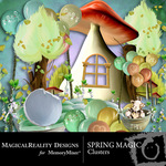 Spring Magic Cluster Pack-$1.99 (MagicalReality Designs)