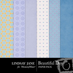 Beautiful Day Extra Paper Pack-$1.99 (Lindsay Jane)