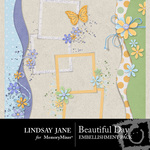 Beautiful Day Mixed Cluster Pack-$1.99 (Lindsay Jane)