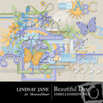Beautiful Day Embellishment Pack-$3.49 (Lindsay Jane)