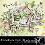 Never Forgotten Embellishment Pack 1-$2.99 (MagicalReality Designs)