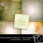 Never Forgotten Paper Pack 1-$3.99 (MagicalReality Designs)