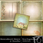 Never Forgotten Paper Pack 2-$3.99 (MagicalReality Designs)