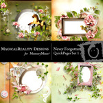 Never Forgotten Quick Page QuickMix 1-$3.49 (MagicalReality Designs)