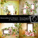 Never Forgotten Quick Page QuickMix 2-$3.49 (MagicalReality Designs)