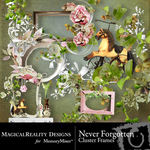 Never Forgotten Cluster Pack-$1.99 (MagicalReality Designs)
