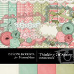 Thinking of Spring Combo Pack-$4.49 (Designs by Krista)