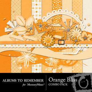 Orange bliss combo pack medium