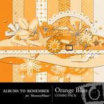 Orange Bliss Combo Pack-$4.49 (Albums to Remember)