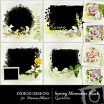 Spring Memories QuickMix-$3.99 (Indigo Designs)