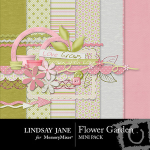 Flower garden mini pack medium