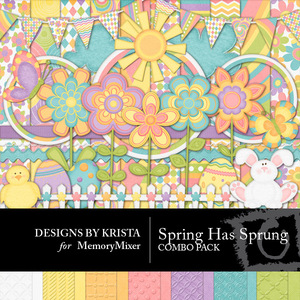 Spring has sprung combo pack medium