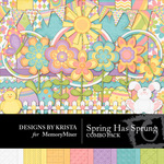 Spring Has Sprung Combo Pack-$2.25 (Designs by Krista)
