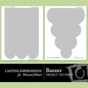 Banner project pattern medium