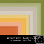 Lucky Fields Embossed Paper Pack-$1.99 (Lindsay Jane)