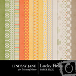 Lucky Fields Paper Pack-$1.75 (Lindsay Jane)