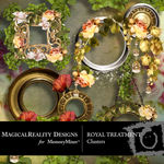 Royal Treatment Cluster Pack-$1.99 (MagicalReality Designs)