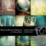 Royal Treatment Paper Pack-$3.49 (MagicalReality Designs)
