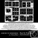 Page Builder QuickMix Sets 008-010-$4.99 (Albums to Remember)