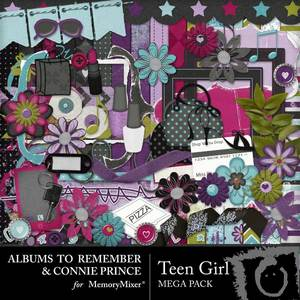 Teen girl mega pack emb medium