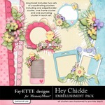 Hey Chickie Cluster Pack-$2.99 (Fayette Designs)