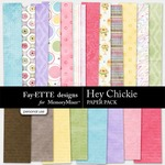 Hey Chickie Paper Pack-$3.99 (Fayette Designs)