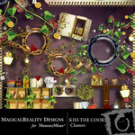 Kiss the Cook Cluster Pack-$1.99 (MagicalReality Designs)