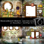 Kiss the Cook Quick Page QuickMix 3-$1.75 (MagicalReality Designs)