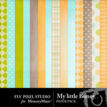 My Little Bunny FP Paper Pack-$1.75 (Fly Pixel Studio)