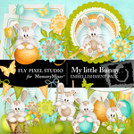 My Little Bunny FP Embellishment Pack-$1.50 (Fly Pixel Studio)