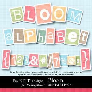Bloom alpha medium